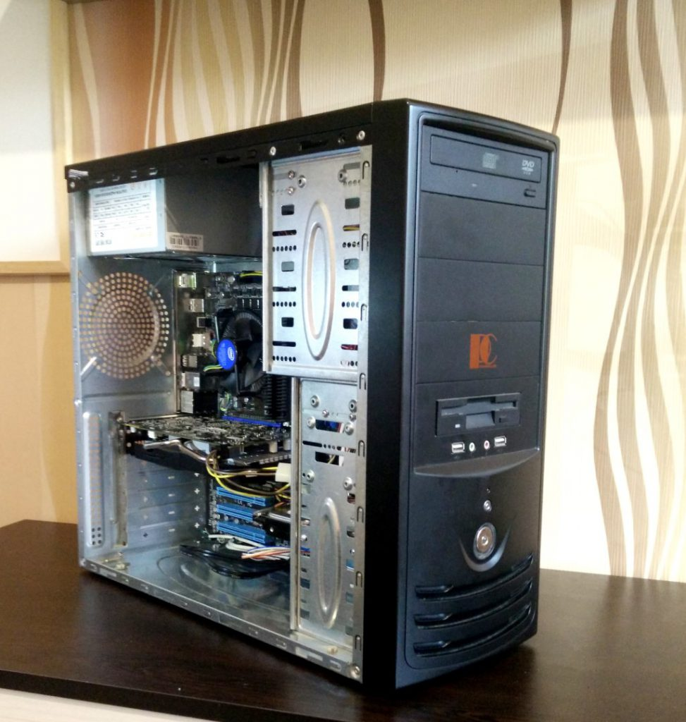 comp1 973x1024 - Computer for games - Gaming PC socket 1156/ GTX 660/ i3/ 8GB DDR3