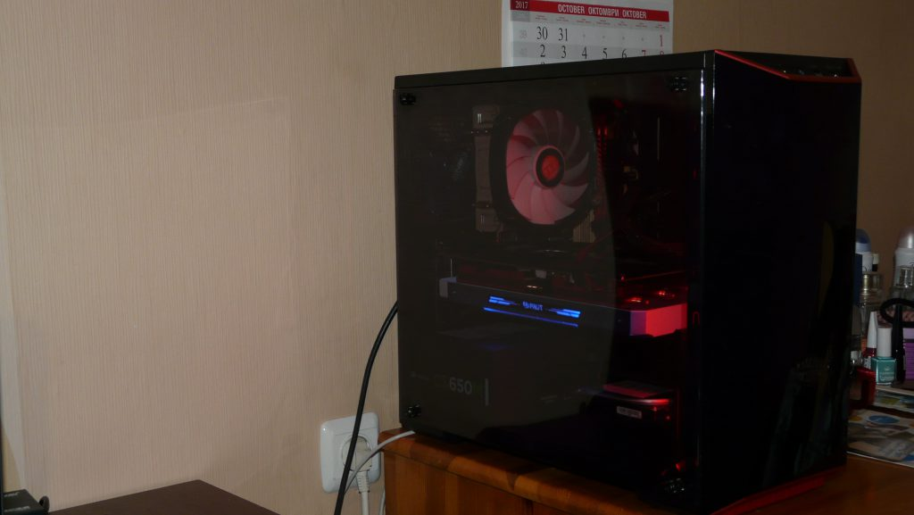 P1360409 1024x577 - Cooler Master MasterBox Lite 3.1 assembly and PC build