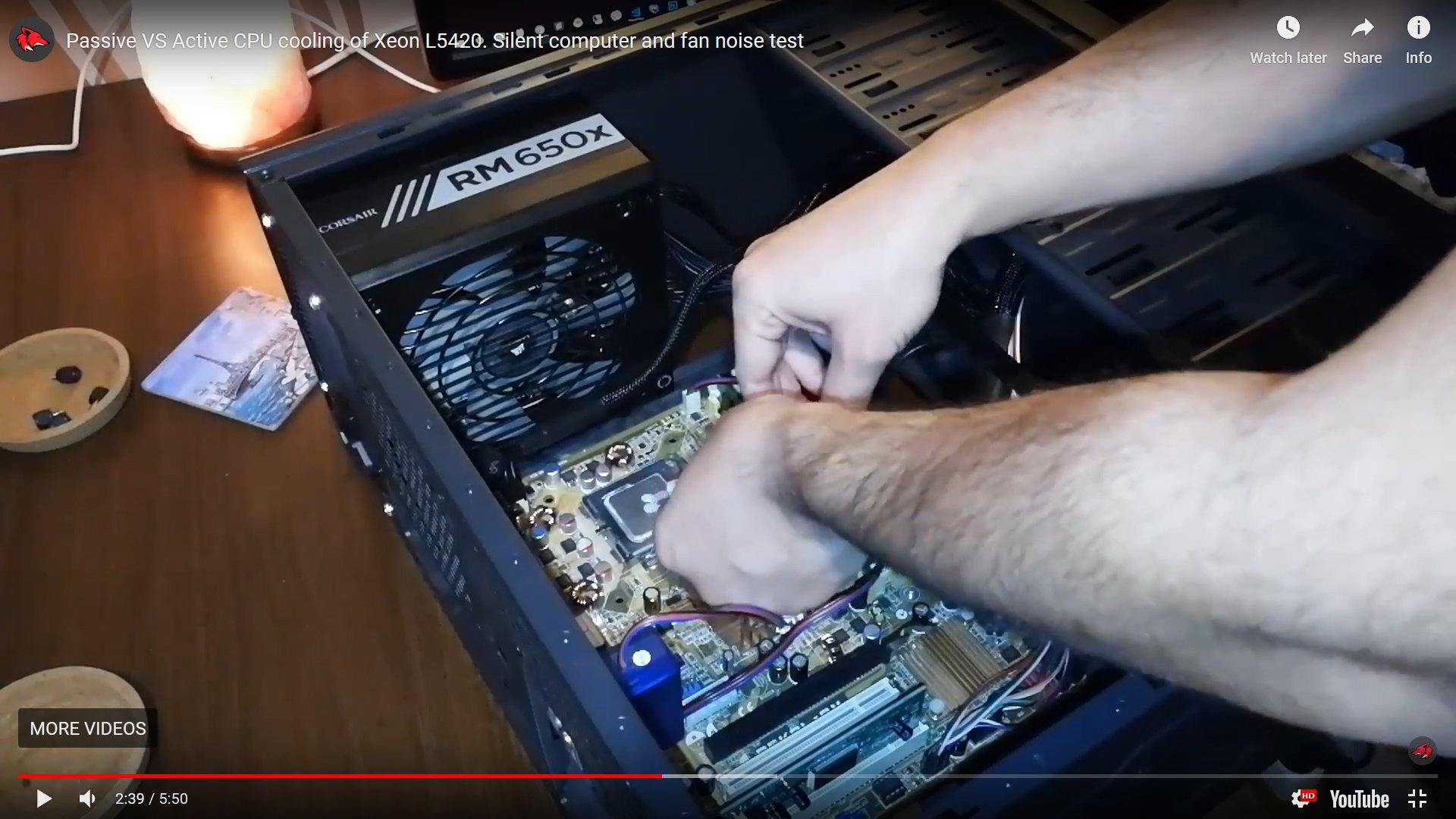 passive VS active CPU cooling