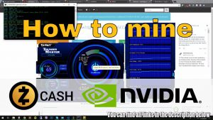 Zcash (ZEC) Nvidia CUDA GTX 1070 miner Getting started How to mine