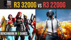 Ryzen 3 3200g vs. Ryzen 3 2200g | RX 570 4GB test in 6 games