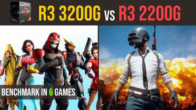 Ryzen 3 3200g vs. Ryzen 3 2200g | RX 570 4GB test in 6 games
