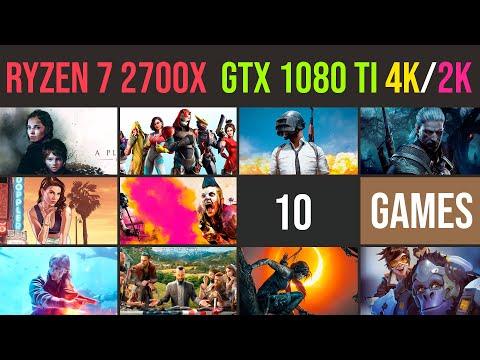 Ryzen 7 2700x | GTX 1080 Ti | 1440p | 4K (2160p) test in 10 games