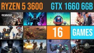 GTX 1660 6GB | Ryzen 5 3600 Test in 16 GAMES | 1080p