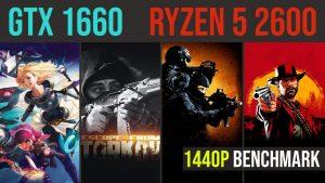 Ryzen 5 2600 | GTX 1660 6GB test in 21 games in 2020 | 1440p