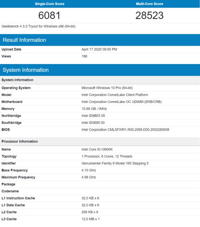 i5 - Intel 10th Gen Core i7-10700K and Core i5-10600K CPUs vs. AMD Ryzen 3000 CPUs