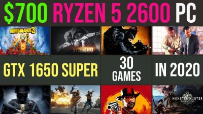 ryzen 2600 gtx 1650 super.jpg 800x600 1 400x225 - GTX 1650 Super | Ryzen 5 2600 in 2020? Test in 30 recent games | 1080p