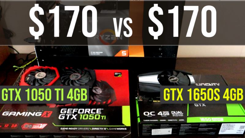 GTX 1050 Ti vs GTX 1650 Super test in 8 games | 1080p