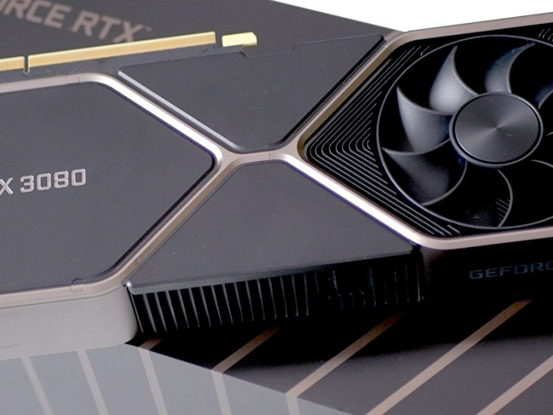 The benchmarks show that Nvidia GeForce RTX 3080 is 68% faster than the GeForce RTX 2080