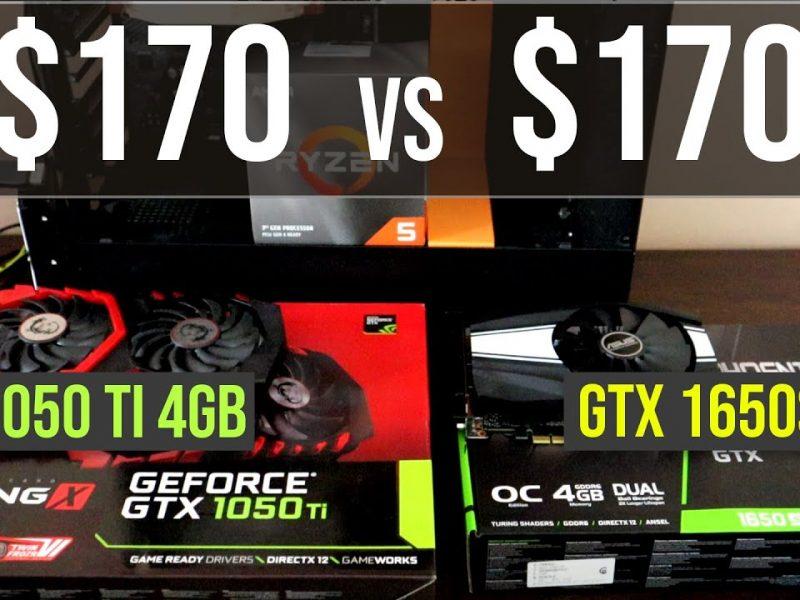 GTX 1050 Ti vs GTX 1650 Super test in 8 games | 1080p