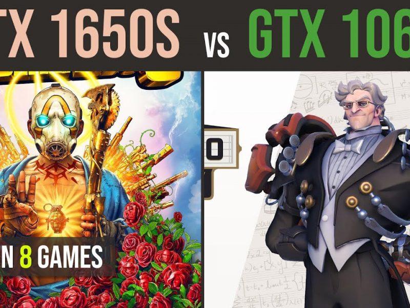 GTX 1650 Super vs GTX 1060 6GB test in 8 games | 1080p